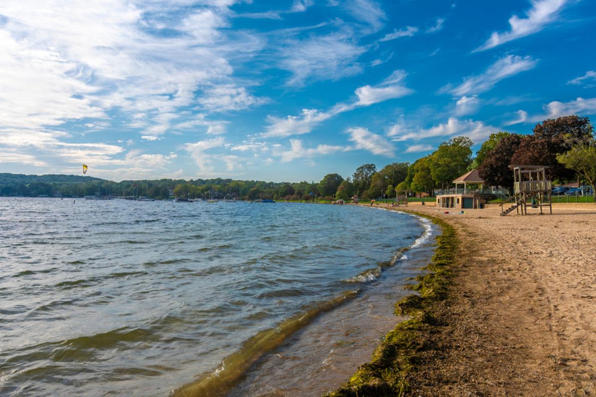 Lake Geneva, WI. Copyright (c) 2019 Nejdet Duzen/Shutterstock