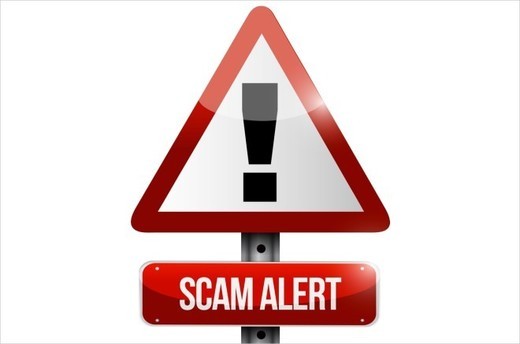 Be Aware - Scam Alert