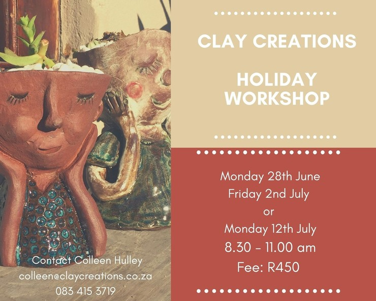 Clay Creations Holiday Workshop