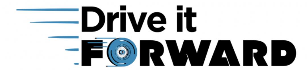 Drive It Forward webpage