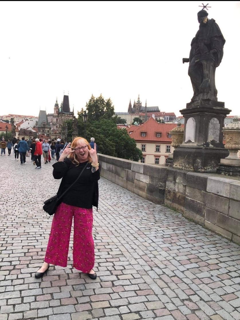 Dawn Mermer reports from Prague