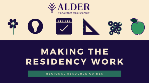 """""""Making the Residency Work"""" Regional Resource Guides"""