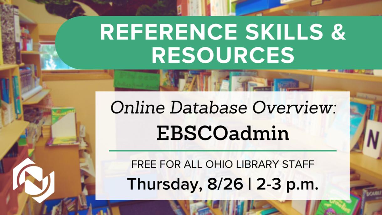 Online Database Overview: EBSCOadmin