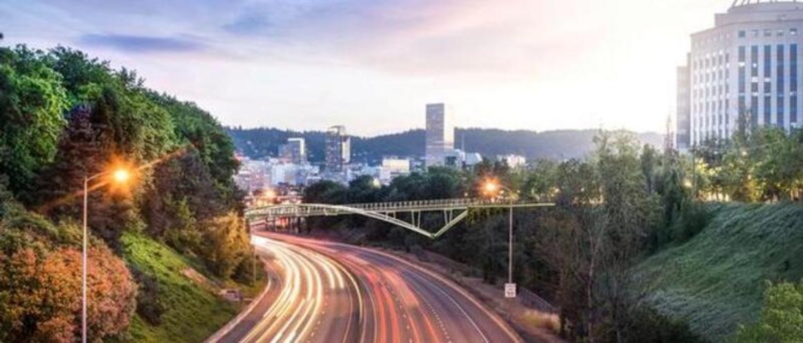 Rendering of the future Blumenauer Bridge