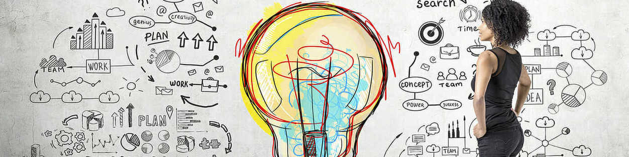 Lightbulb and Ideas Image