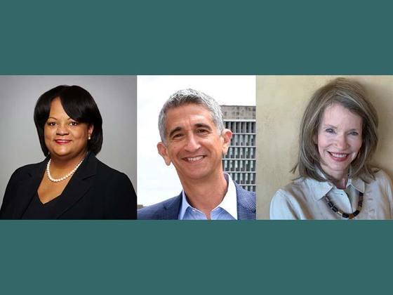 Dr. Regina Benjamin, Richard M. Lerner and Martha Murphy