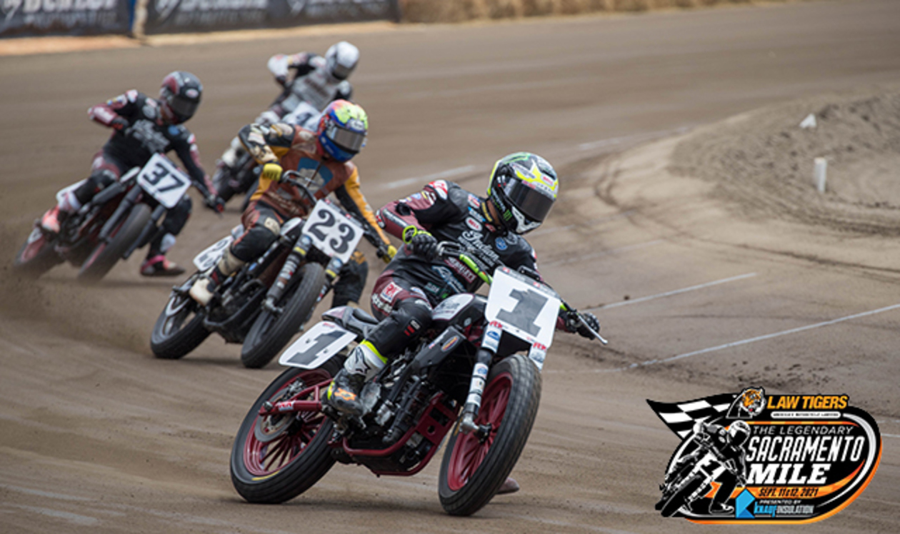 Law Tigers, America's Motorcycle Lawyers. The Legendary Sacramento Mile, September 11 - September 12. Presented by Knauf Insulation