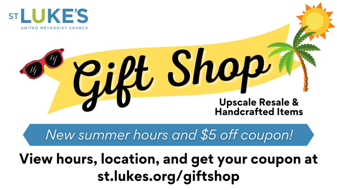 Gift shop webpage link