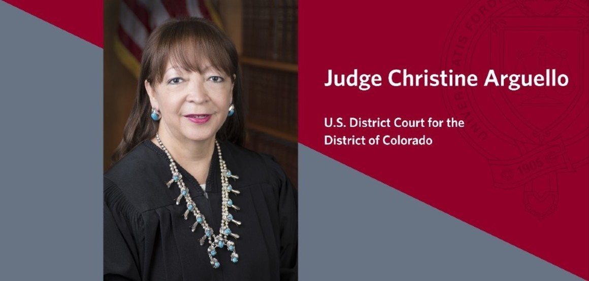 CJEC Year 2 First to the Bench Judge Christine Arguello