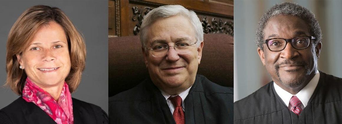 Fall 2020 Judges Week Judges Amy St. Eve, Richard Gergel, and Solomon Oliver, Jr