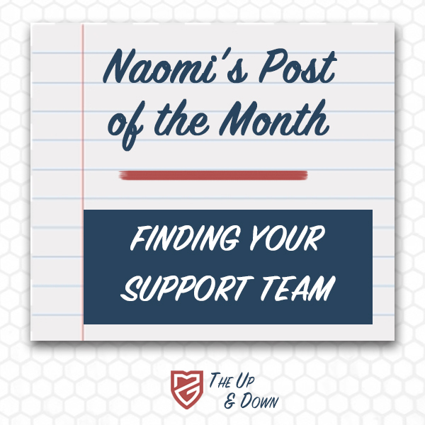 Naomi's Post of the Month