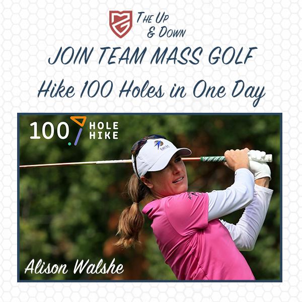 100 Hole Hike and Team Mass Golf