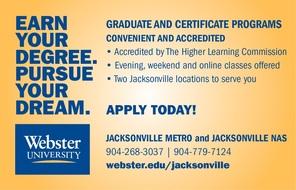 Webster University Ad