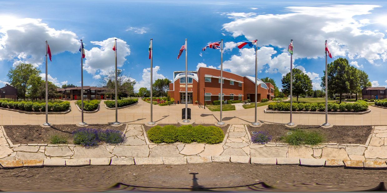 360 degree photo of the Weller Center at Central College