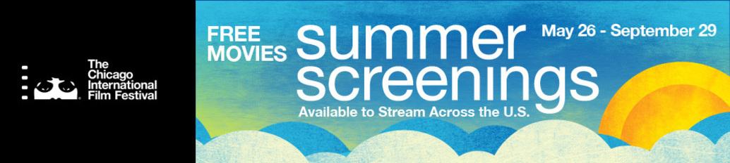 flyer for The Chicago International Film Festival Summer Screenings