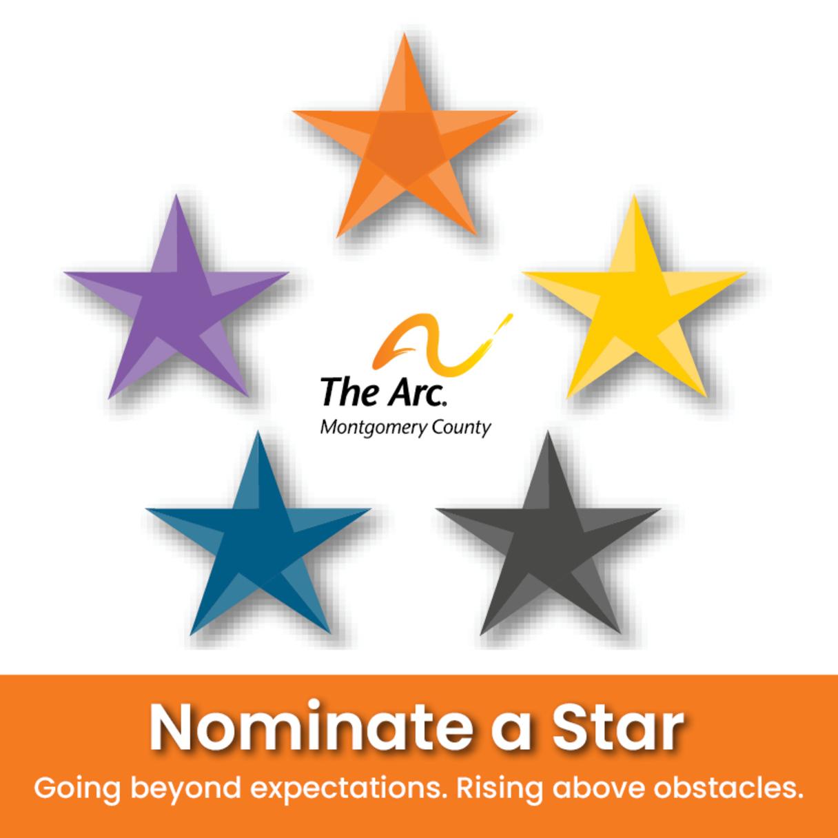 Nominate a Star - Community, Staff & Volunteer Awards
