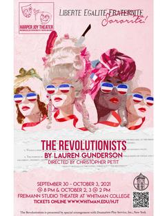 The Revolutionists theatrical poster