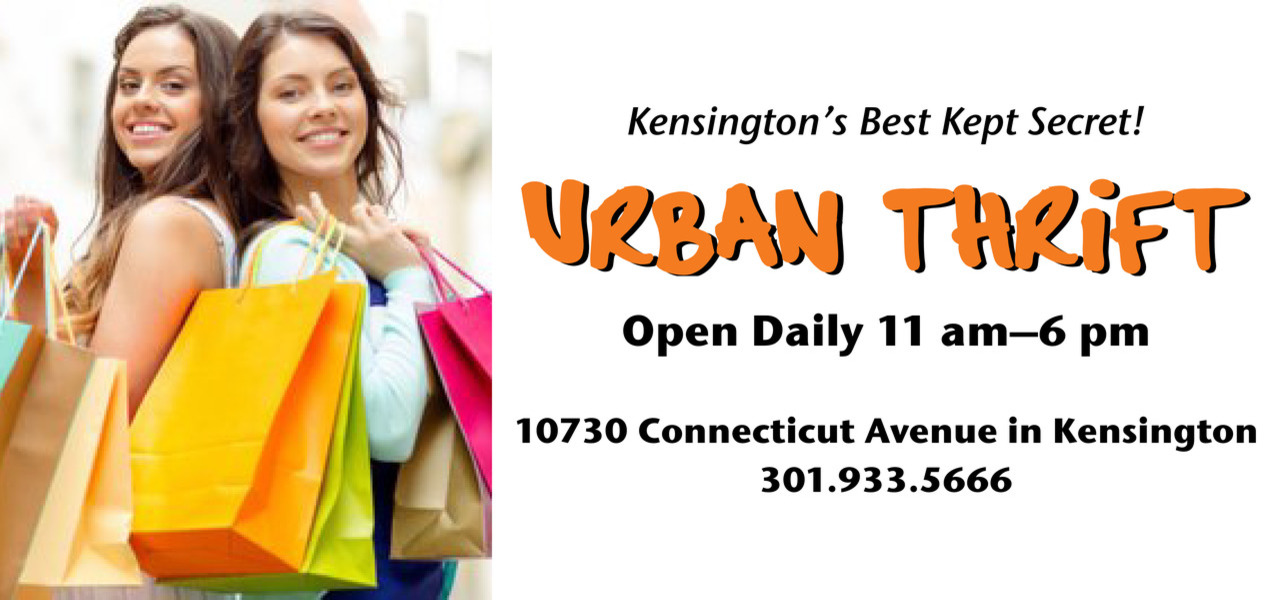 Urban Thrift open daily 11 am to 6 pm