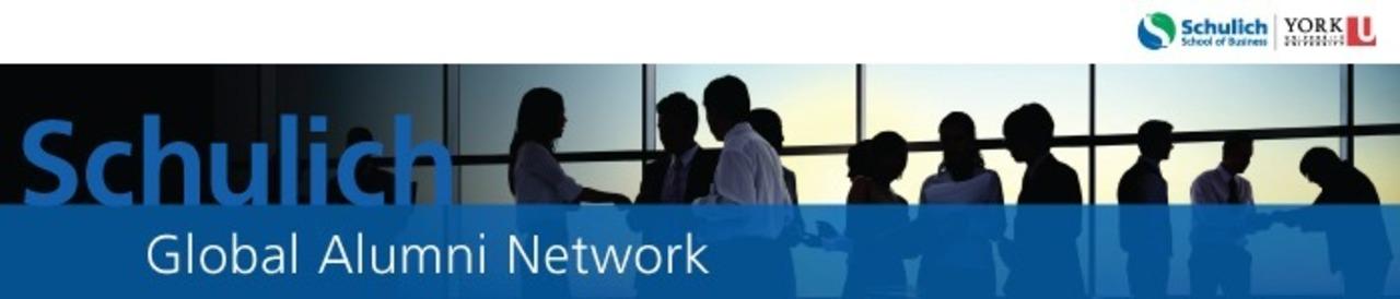 Schulich Global Alumni Network Banner