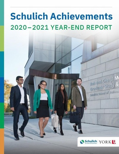 Schulich Achievements 2020-2021 Year-End Report