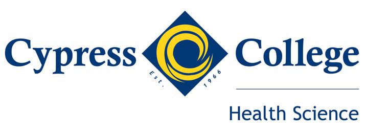 Cypress College Health Science logo lockup