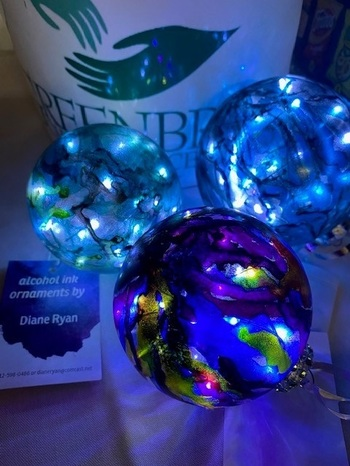 Christmas in July ornaments