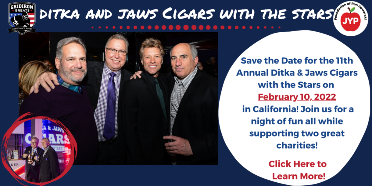 Ditka and Jaws Cigars with the Stars