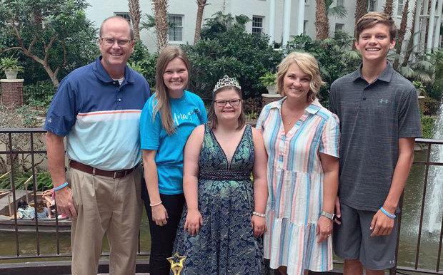Photo of Bella Van Gorp and family