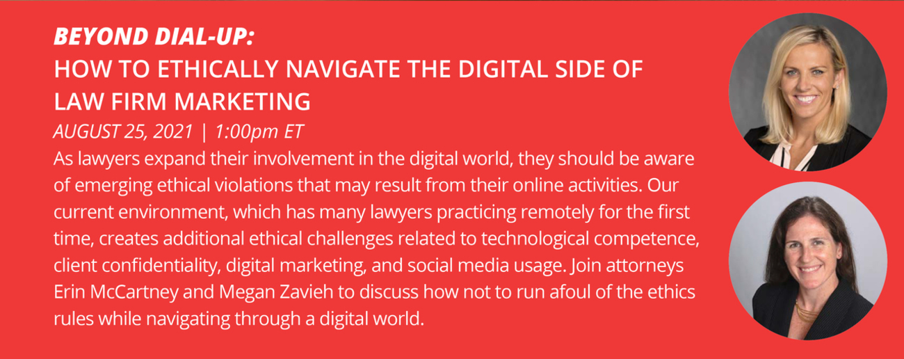 How to Ethically Navigate The Digital Side of Law Firm Marketing