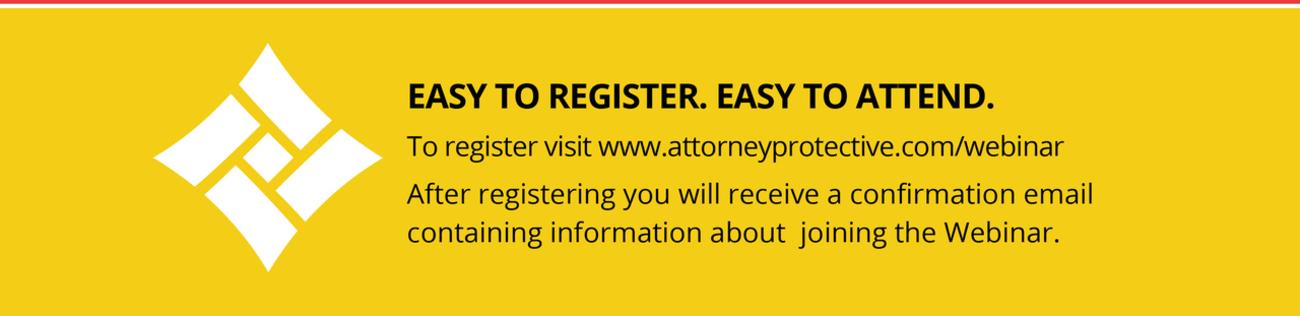 AttPro Logo Easy to Register, Easy to Attend
