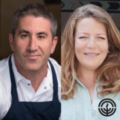 Chef Michael Solomonov and Chef Adeena Sussman
