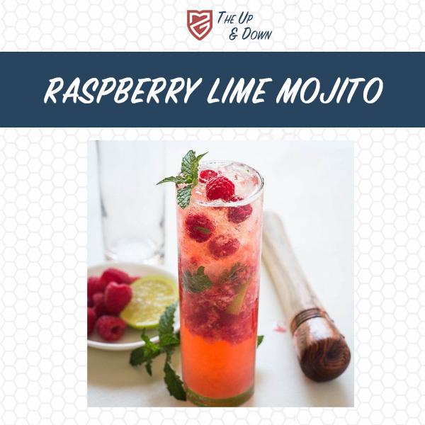 Raspberry Lime Mojito Recipe