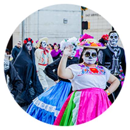 Dia de los Muertos Parade 2019