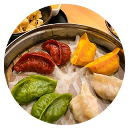 Dumplings at Royal China