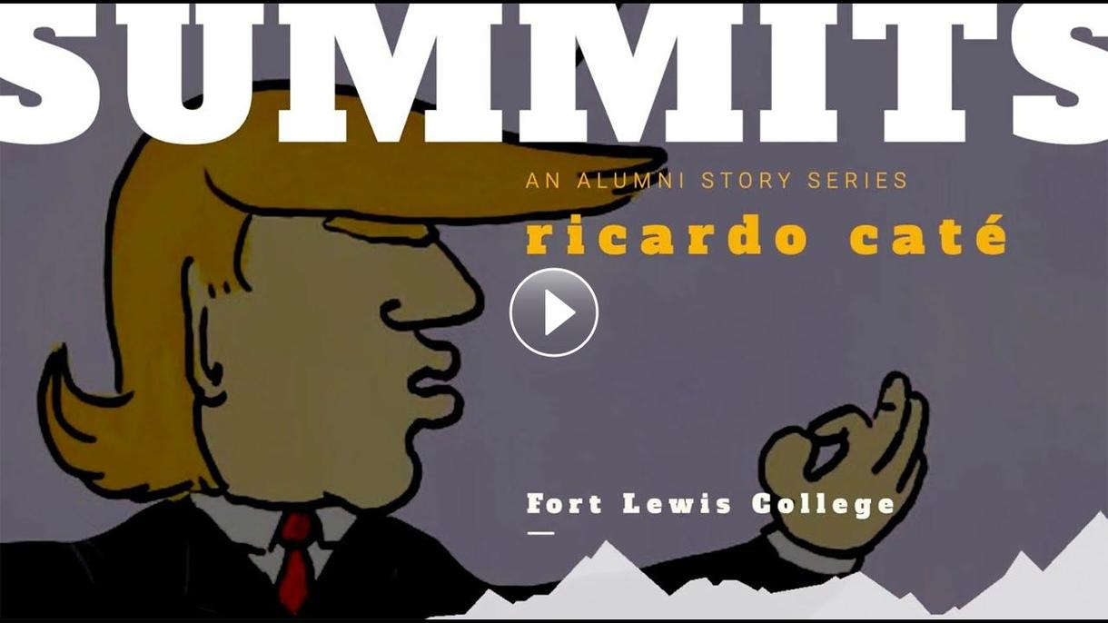 FLC Summits talked with Ricardo Caté, a prominent Native American cartoonist