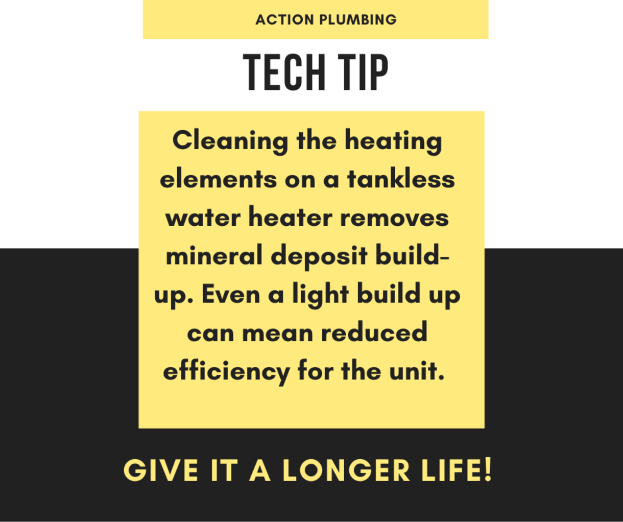 Tankless Water Heater Tip