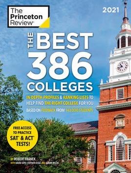 Cover of Princeton Review magazine