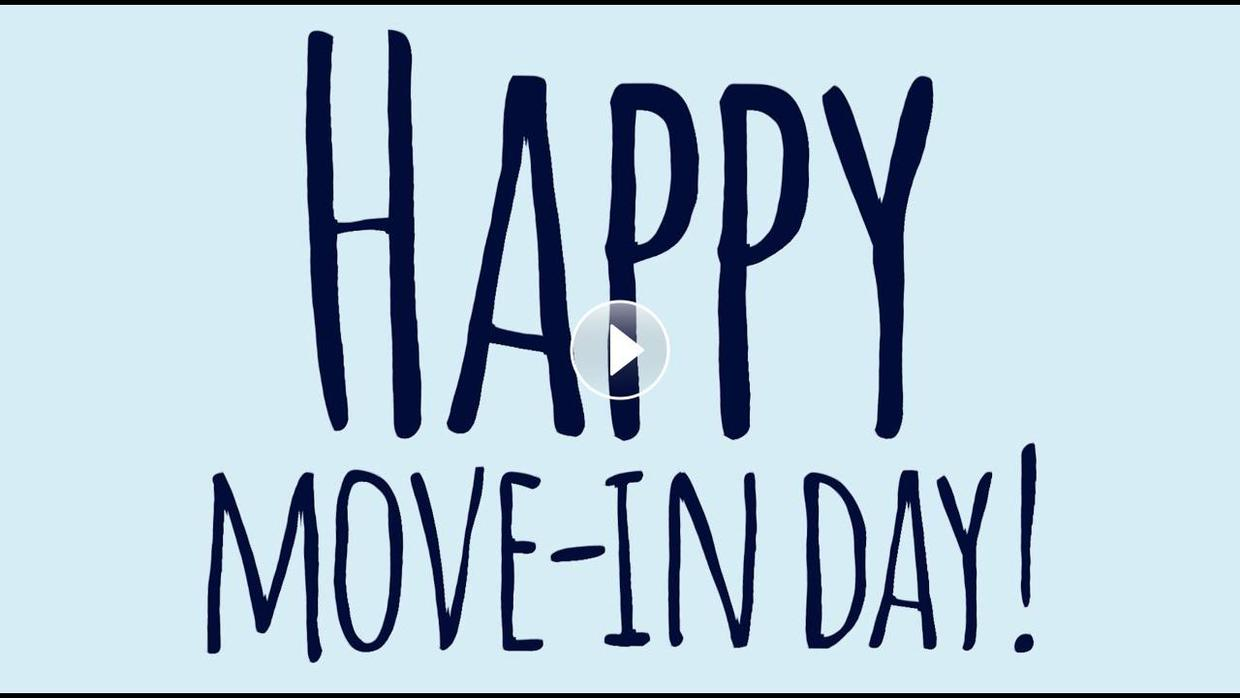 Video of 2021 Move-In Day