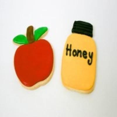 Apple and honey cookies
