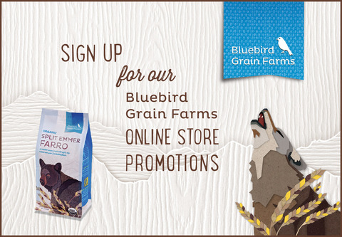 Sign up here for exclusive Bluebird promotions!