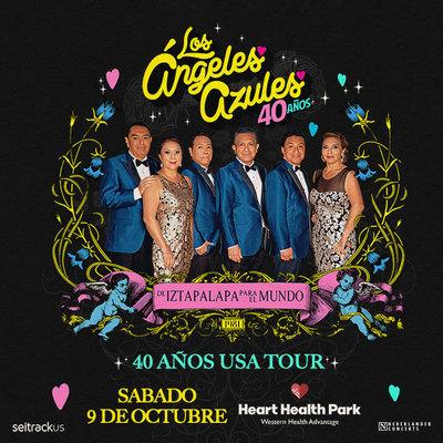 Los Ángeles Azules – 40 Años Tour