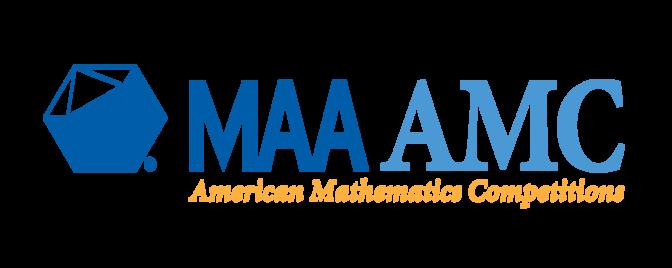 MAA AMC American Mathematics Competition with Icosohedron logo