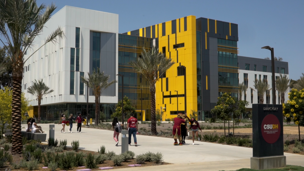 Backdrop of new Innovation and Instruction Building