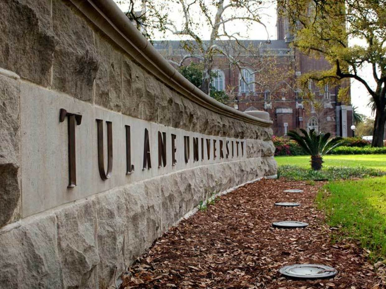 Tulane sign