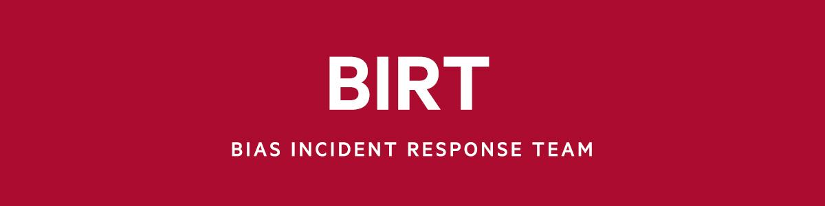 BIRT | Bias Incident Response Team