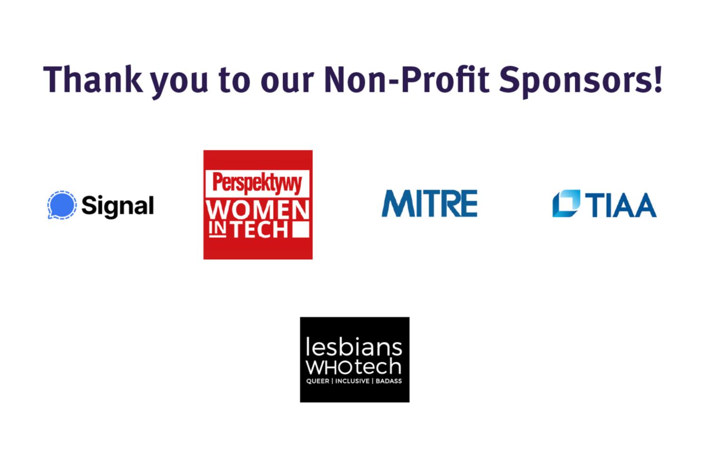 vGHC 21 Nonprofit Sponsors