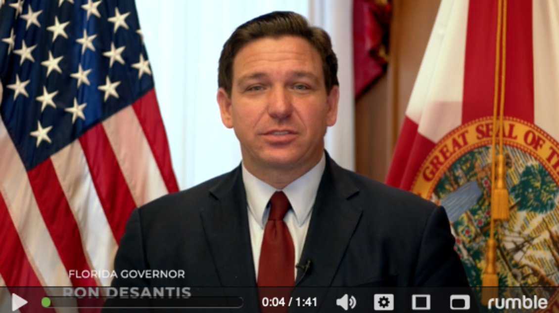 VIDEO RELEASE: Governor DeSantis Encourages All Floridians to Celebrate Constitution Day