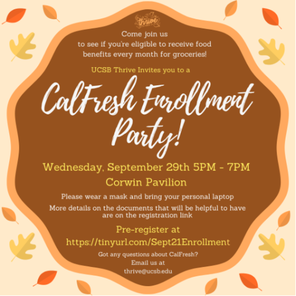 CalFresh Enrollment Party