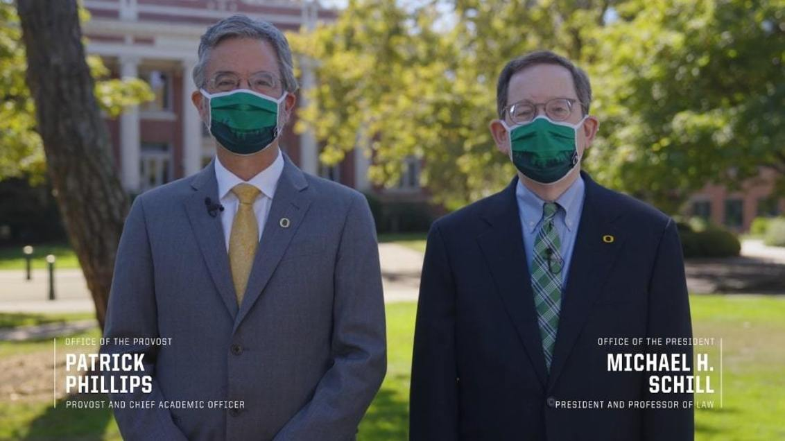 President Schill and Provost Phillips highlight safety