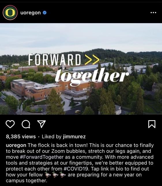 Forward Together Instagram